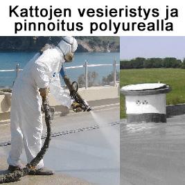 Kattojen                   pinnoitus polyurealla
