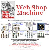 Web Shop Machine