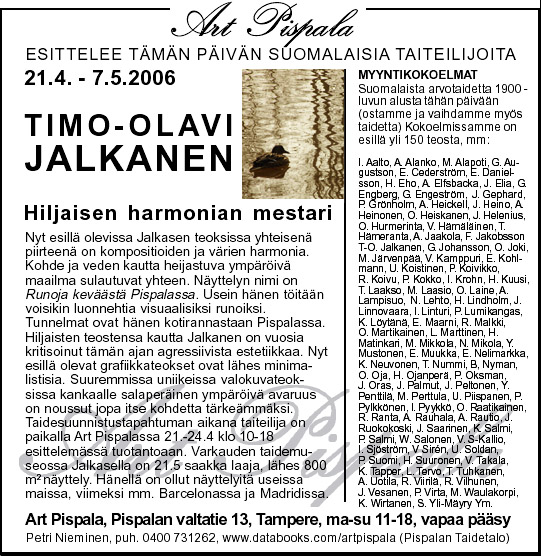 Runoja keväästä Pispalassa
