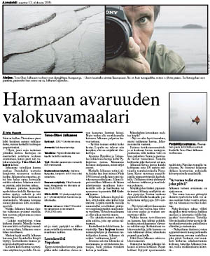 Aamulehti 13.08.2005 sivu 26